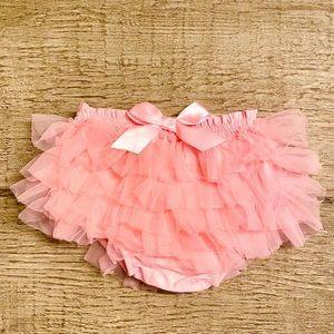 Newborn Photo Shoot - Pink Ruffled Diaper Cover